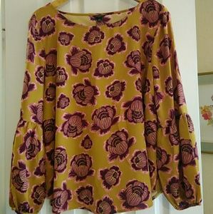Woman's billowy blouse